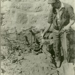 Lead Church Lady Cleggs excavations 1930s_Survey_Bones