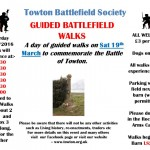 A day of Guided Walks to commemorate The Battle of Towton